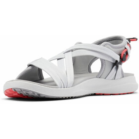 Columbia Sandalias Mujer, grey ice/red coral